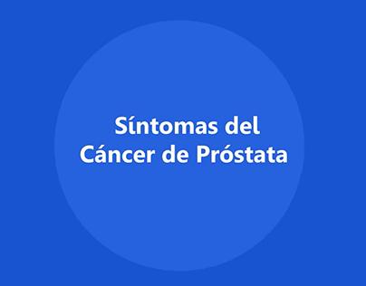 Vídeo Síntomas del Cáncer de Próstata