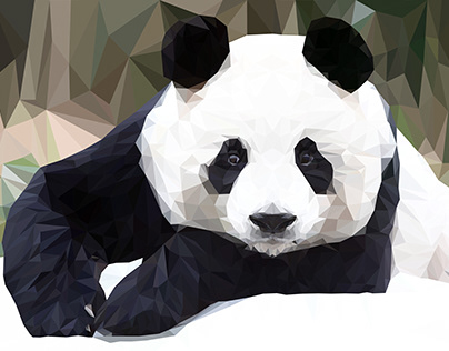 Low/Highpoly Panda