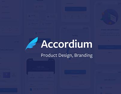Accordium Mobile UI/UX