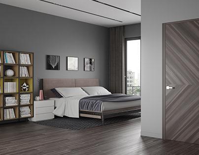 Viz of doors for Galereya Dverey Company
