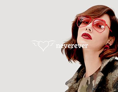 never ever || rebranding