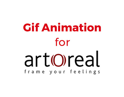 GIF animations for Social media Page: artOreal