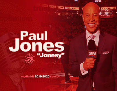 "Paul ""Jonesy"" Jones •Media Kit"