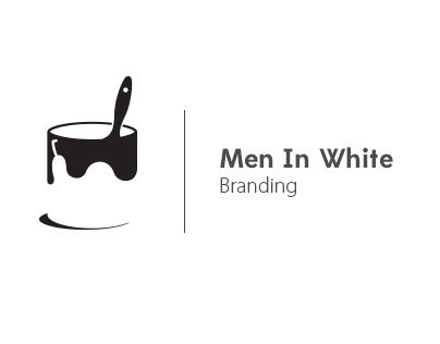 Men In White Branding