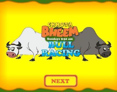 Chhota Bheem Bull Racing