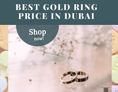 Stunning Gold Rings At Best Gold Ring Price in Dubai
