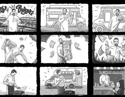 Launch Business Ideas Storyboards