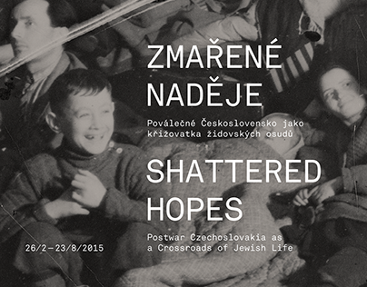 Shattered Hopes – Exhibition design