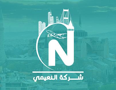 Naimi seyahat ve emlak firması'nın logosu