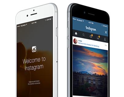 Instagram Facelift Concept
