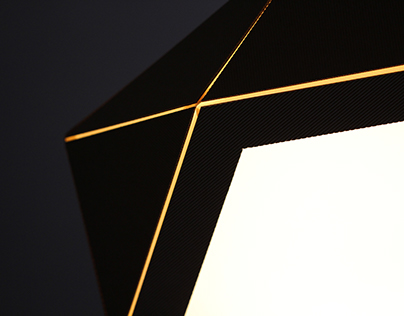 """GRAFEN LAMP"" project for ART-ABAŻUR company"