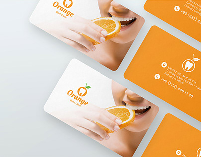 Logo Book Orange Dent Clinic