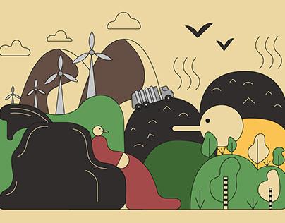 Проблема мусора в России. Иллюстрации и инфографика