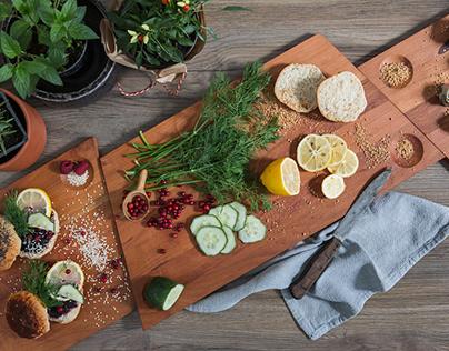 Premium Food Design Hub
