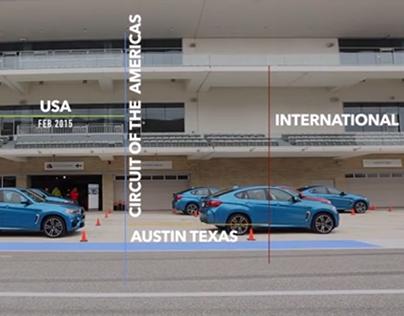 BMW X6M International Launch