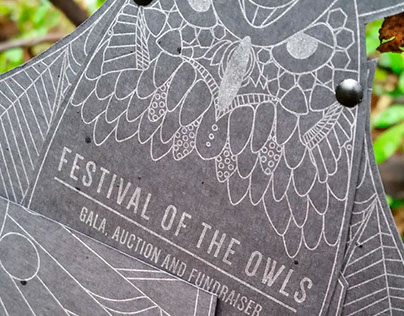 Festival of the Owls Invitation