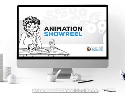 Animation and film showreel