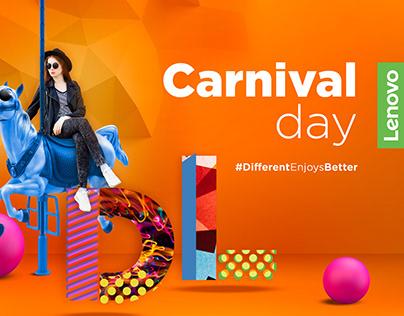 Carnival day Lenovo Caso de éxito