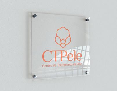 CTPele - logo design