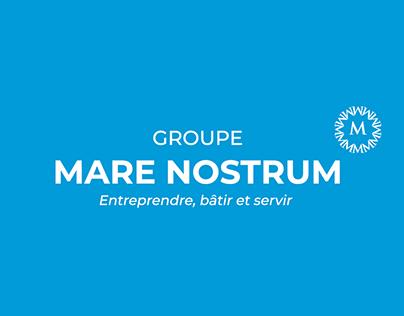 Groupe Mare Nostrum | Charte graphique du groupe