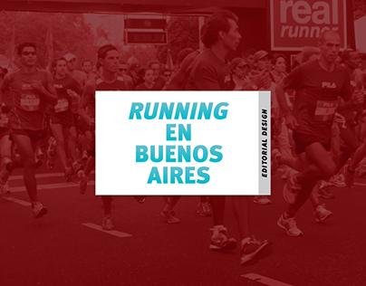 Running en BA - Editorial Design