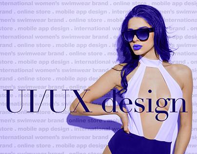 Online Swimwear Store | Mobile UI UX Design