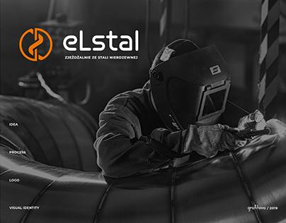 eLstal Logo Design