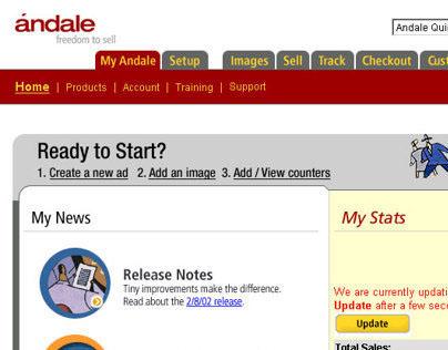 Andale - Web & Desktop app design