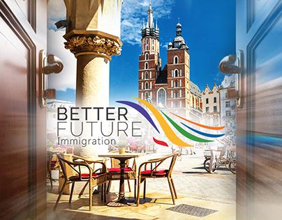 Better Future Immigration Photo Manipulation Artwork