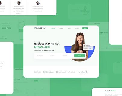 Job Portal | Concept Landing Page