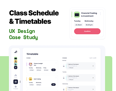 Classroom Scheduling | UX Case Study