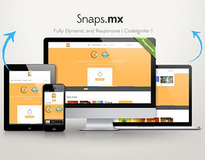 Snaps.mx (Codeigniter)