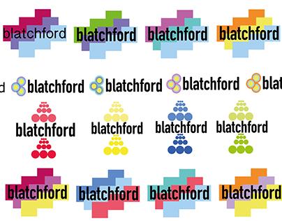 Logo experimentation- Blatchford Work Placement