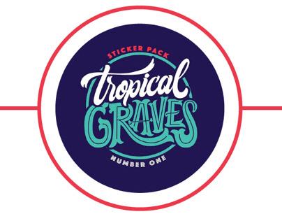Stickers para Tropical Graves