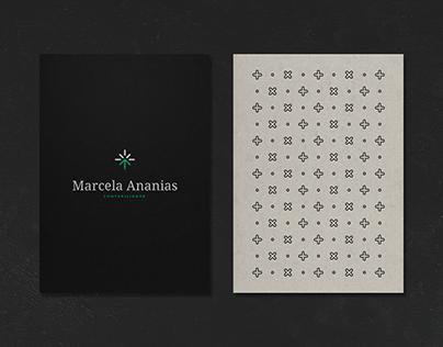 Marcela Ananias | Contabilidade - Identidade Visual