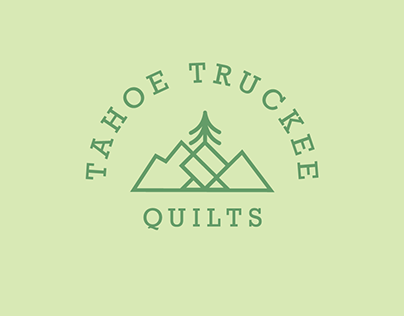 Tahoe Truckee Quilts Logo Design