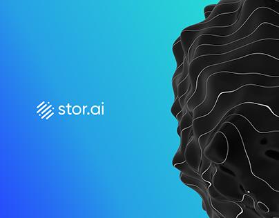 Stor.ai Logo Design