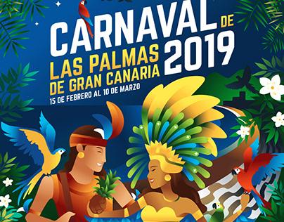 Carnaval 2019 de Las Palmas de Gran Canaria - Cartel