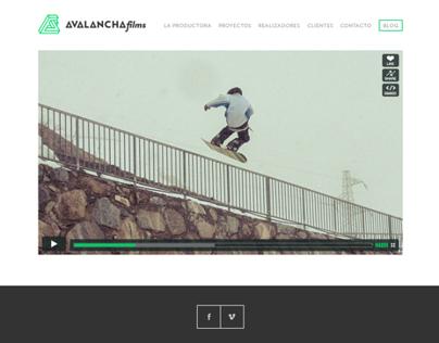 Avalancha Films website