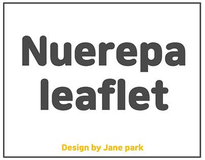 Nuerepa Leaflet Design