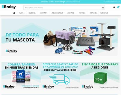 Ecommerce Braloy