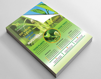 Green Creative Flyer