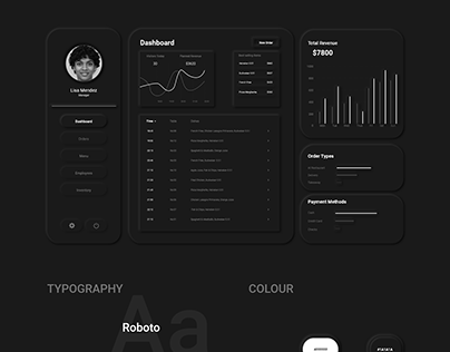 Neumorphic Dashboard Design