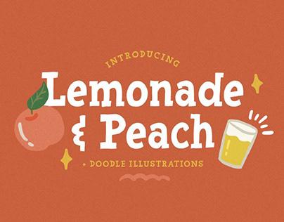 Lemonade and Peach