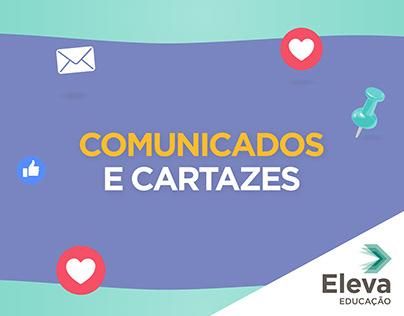 Comunicados e Cartazes - Eleva Educação