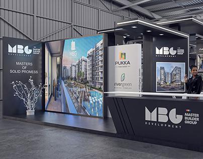 """""""MBG DEVELOPMENT"""" Exhibition Stand Design"""