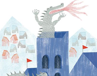 "book illustration/""Witch stew"""