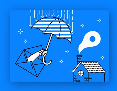 Weather App Illustrations