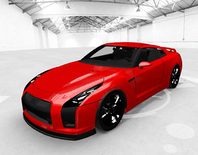 Glasurit WebGL 3D Interactive Car
