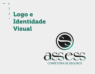 Logo e Identidade Visual - Assess Corretora de Seguros